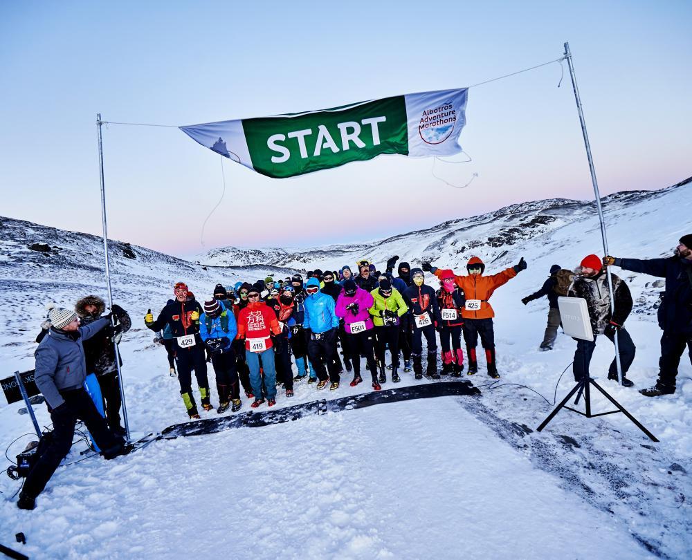 世界最高かつ極寒のマラソン体験 polar circle marathon