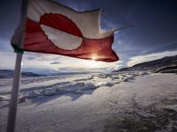 Greenland's Flag