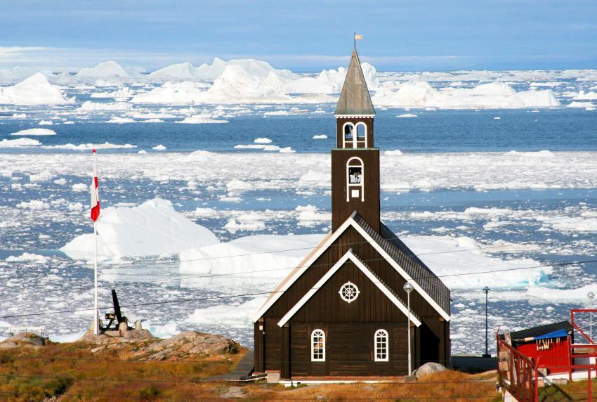 Ilulissat's Zion Church