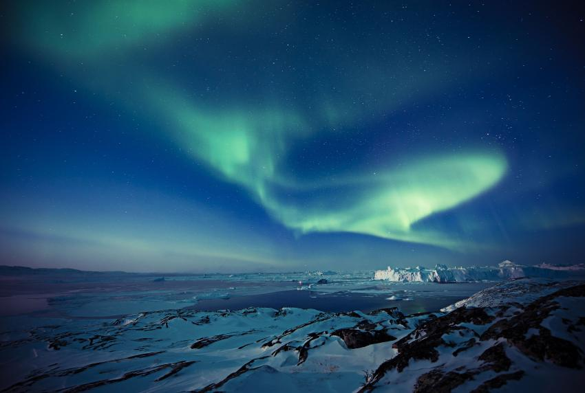 Northern Lights over Ilulissat